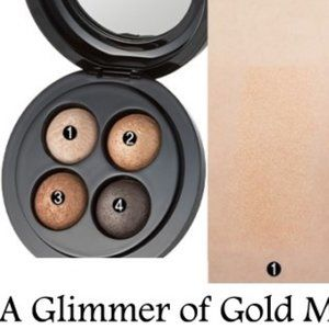 MAC A Glimmer of Gold Mineralize Eyeshadow x4